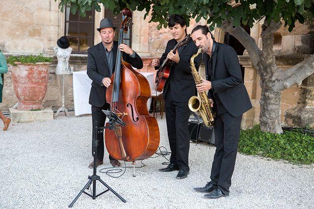 Orchestra di jazz per un Matrimonio